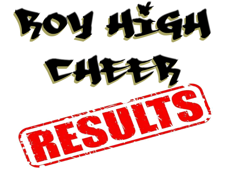 Roy High Cheer *Results*