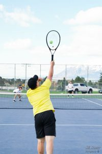 4-22-19 Boys Tennis vs Viewmont