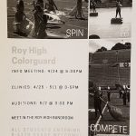Roy High Colorguard info