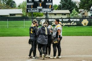 4-30-19  Girls Softball vs Bountiful