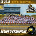 2018-2019 Football Region 5 Champions!
