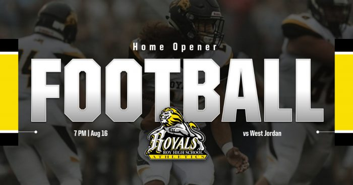 Football Home Opener Tonight Aug. 16 @ 7 PM vs West Jordan