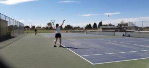 9-3-19 Girls Tennis vs Clearfield