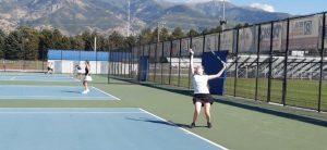 9-12-19 Girls Tennis @ Layton