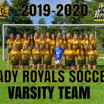 2019-2020 Girls Soccer Varsity Team