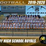 2019-2020 Football Team