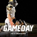 Football @ Clearfield  Oct. 4, 7 PM
