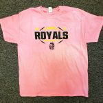 New Pink Royal Football Shirts on sale now!!  Only $5