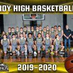 2019-2020 Boys Basketball Team