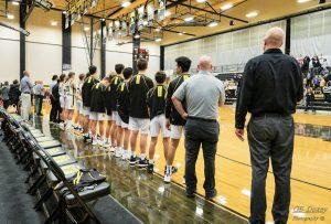 1-14-20 Boys Basketball vs Northridge