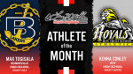 The September Larry H. Miller in Riverdale Athletes of the Month are…
