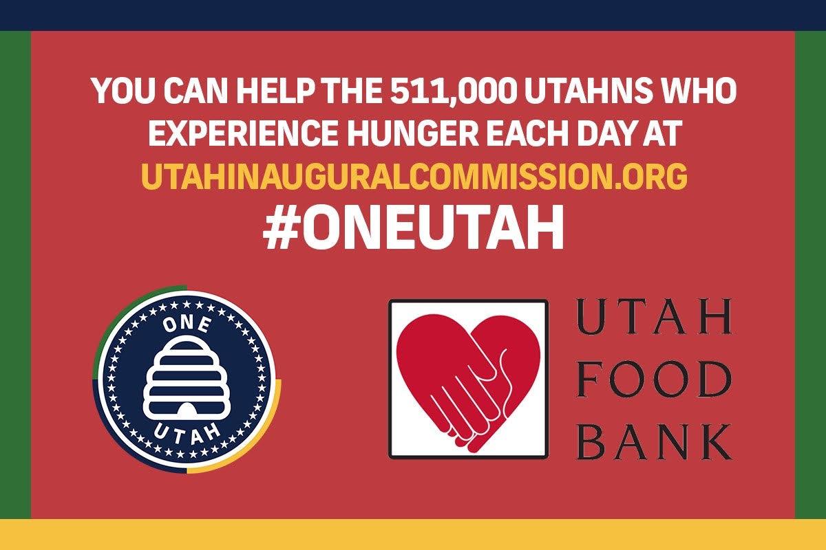 Utah Food Bank – December 19 from 12 PM – 4 PM  @ Roy Harmons