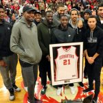 Germantown Retires Ian Clark's Jersey