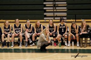 Skyline Lady Eagles vs Olympus (January 20, 2017)