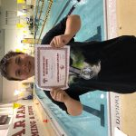Boys Varsity Swimming finishes 1st place at Hazelwood East High School