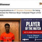 Boys Varsity Volleyball beats Fox 2 – 0