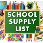 Music – Supply List