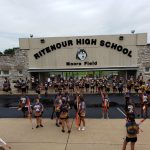Insta – Color Guard and Marching Band at Back to School Bash – 2019