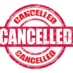 Athletic EVENTS/PRACTICES CANCELLED – Today – 1/23/20