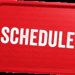 Winter Break Practice Schedules – 2019-2020