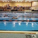 Boys Varsity Swimming beats Affton 99 – 29