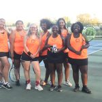 Girls tennis beat Hazelwood Central is now 4-0