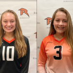 Girls Varsity Volleyball beats Hazelwood East 2 – 0