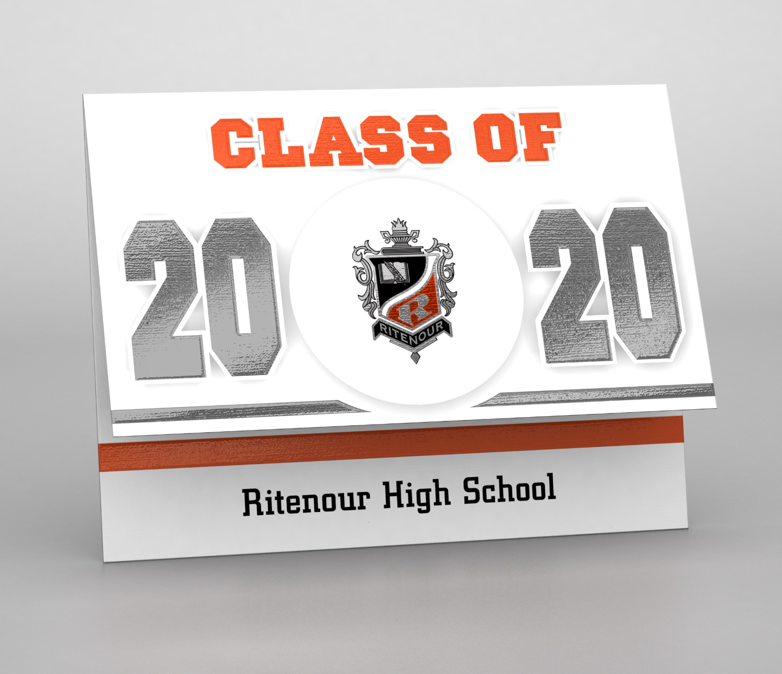 Graduation Announcement Insert for Date Change – 2020
