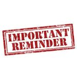 CURBSIDE PICK UP REMINDER- 5/21/20 – Class Rings, Yard Signs and Cap/Gowns