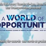 FBLA – A World of Opportunity – 2019-20