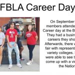 FBLA Career Day – 9/18/19