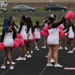 Cheerleading at C-Team Football vs. Pattonville - 10/28/19 - Photos by Laskowski
