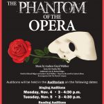 Phantom of the Opera – Auditions BEGIN 11/4/19