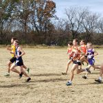 Senior, Joe Kipper, Competed at the Missouri Class 4A State Cross Country Championships