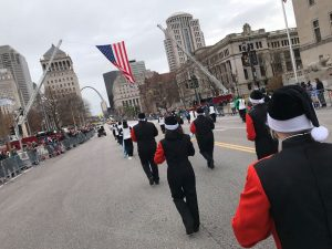 Marching Band and Color Guard – Thanksgiving Day Parade – 2019 – Pictures from Haux