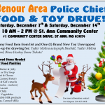 Ritenour Area – Police Chiefs Food and Toy Drive – 2019 – REMINDER