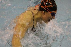 Girls Swimming vs. Clayton – 12/10/19 – Photos by Laskowski