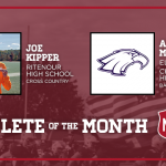 Ritenour Cross Country athlete, Joe Kipper, named MOD Athlete of the Month for December
