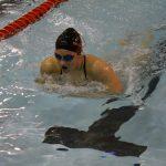 Girls Swimming – Alyssa Lane – NEW SCHOOL RECORD – 2019/2020