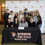 Softball - Mia Key Signing - Lewis and Clark - 2-19-20 - Photos by Laskowski