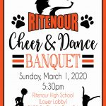 RHS Cheer & Dance Banquet today!