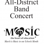 All – District Band Concert – 3/7/20 – 1pm