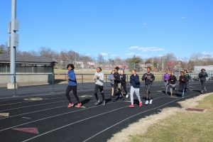 Boys and Girls Track – Practice Day #4 – 3/5/20