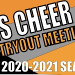 Cheer Tryout Meeting and Tryout Day One Re-Cap