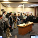 Boys and Girls Swimming – Recognized at BOE – 3/12/20