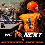 "Football – ""We R Next"" – Jayden Smith – Class of 2024"