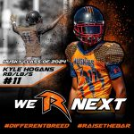 """Football – """"We R Next"""" – Kyle Hogans – Class of 2024"""