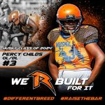 "Football – ""We R Next"" – Percy Childs – Class of 2024"