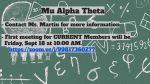CLUBS – Mu Alpha Theta