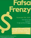 FAFSA Frenzy – 11/19/20 – 5-7pm